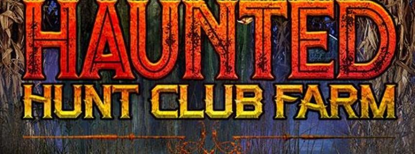 Haunted Hunt Club Fundraiser