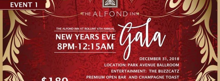 6th Annual New Years Eve Gala at Alfond Inn