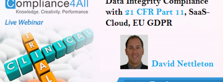 Compliance with 21 CFR Part 11 (Data Integrity)