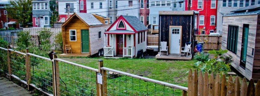 Smalltimore Homes Tiny House Block Party