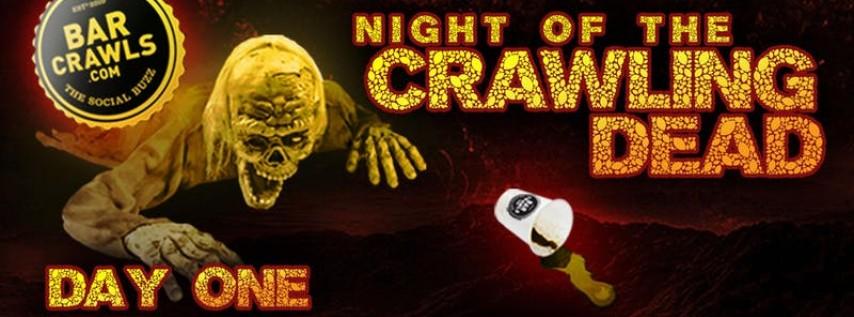 The Charleston Halloween Bar Crawl Day 1