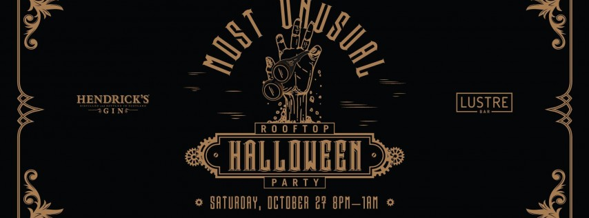 THE MOST UNUSUAL ROOFTOP HALLOWEEN