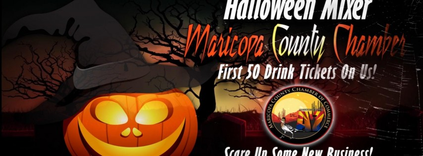 Maricopa County Chamber Halloween Business Mixer