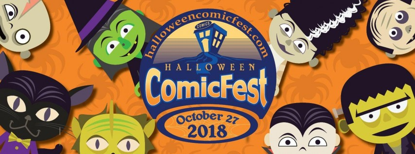 Halloween ComicFest @ the Library!