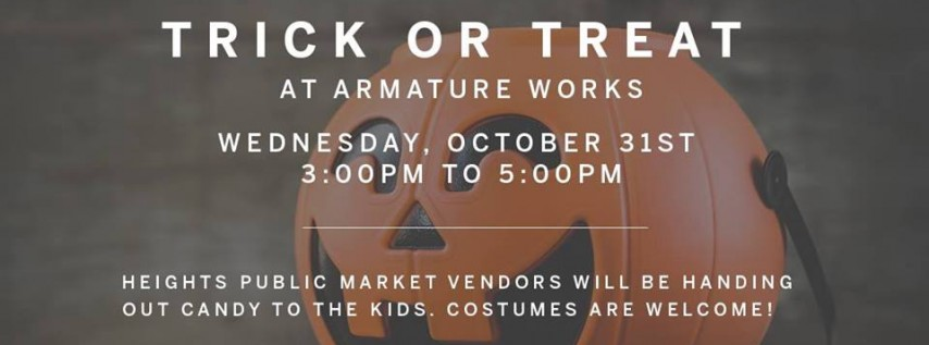 Trick or Treat at Armature Works