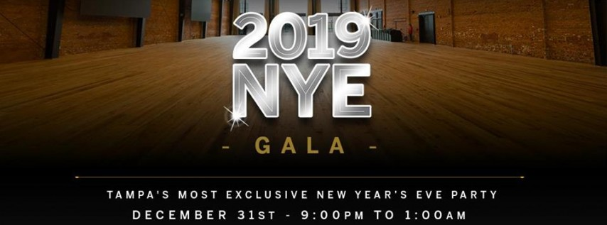 New Year's Eve Gala 2019 at Armature Works