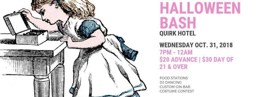 Quirk Hotel's Halloween Bash
