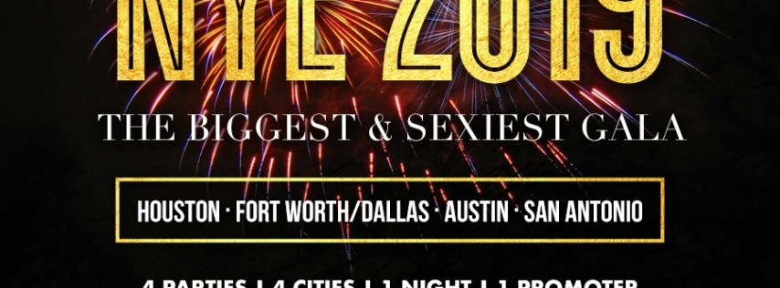 Red Oak Ballroom NYE 2019 New Year's Eve Celebration Austin