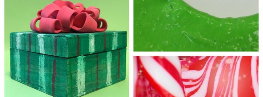 Holiday Slime Time Workshop (4-9 Years)