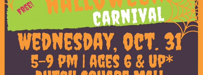 "City of Columbia's ""Spooktacular Halloween Carnival"""