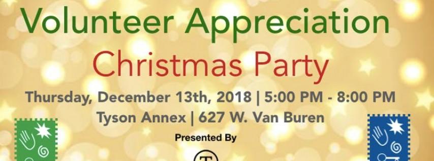 Volunteer Appreciation Christmas Party
