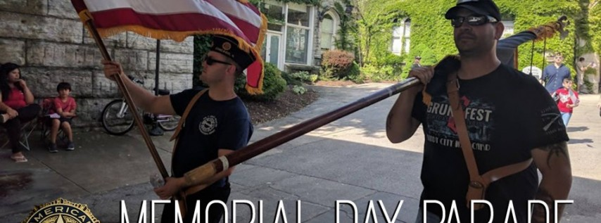 Memorial Day Parade at Rosehill Cemetary