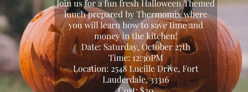 Halloween Luncheon