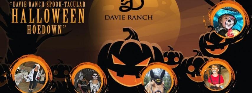 Davie Ranch Spooktacular Halloween HoeDown