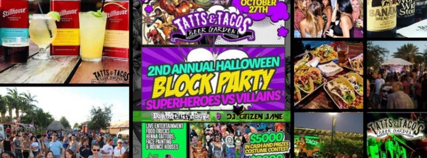 2nd Annual Halloween Block Party
