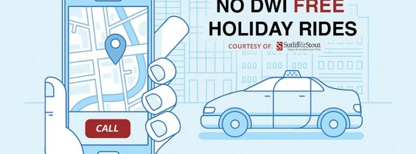 No DWI Free Holiday Rides - Halloween 2018