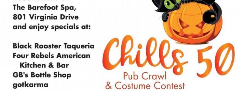 Chills 50 Pub Crawl & Costume Contest