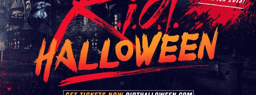 RIOT HALLOWEEN 2018 | FRIDAY OCT 26TH | PURE NIGHTCLUB | 1000+PPL