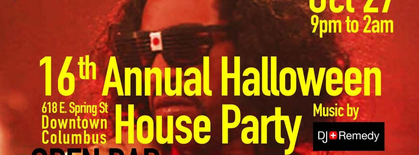 Halloween House Party at Merry Makers