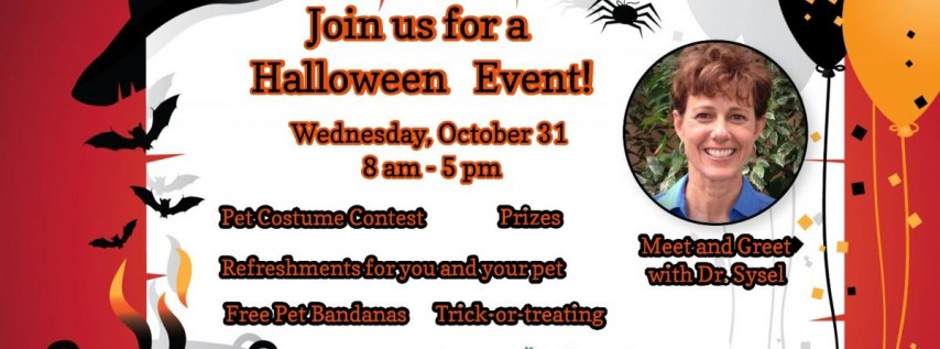 MARTIN DOWNS ANIMAL HOSPITAL IS HOSTING A HALLOWEEN EVENT AND WELCOMING NEW DOCTOR