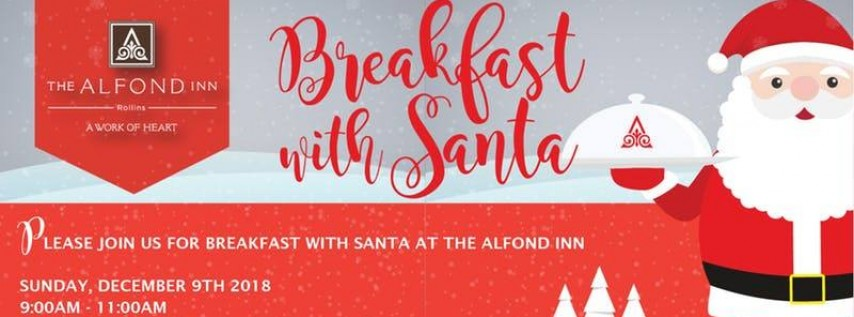 Breakfast With Santa at The Alfond Inn