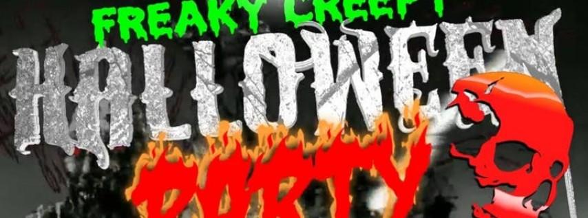FREAKY CREEPY HALLOWEEN PARTY!!