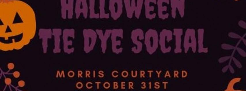 COP Halloween Tie Dye Social