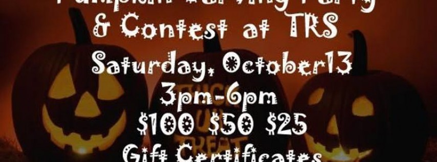 Pumpkin Party Carving & Contest
