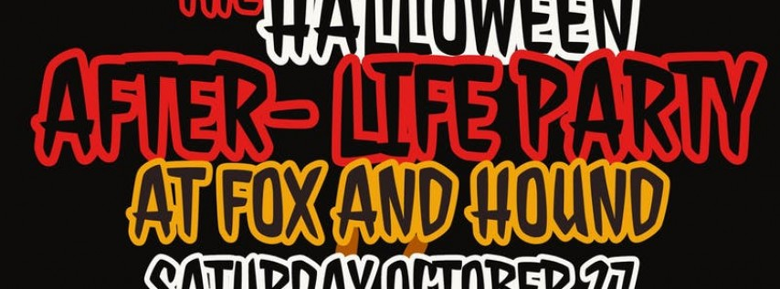 The Halloween After- Life Party