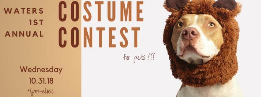 Waters Patio Pet Costume Contest