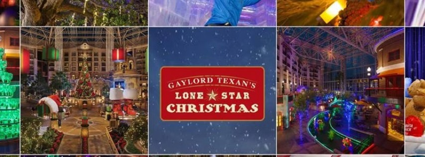 Ice at the Gaylord and a Lone Star Christmas