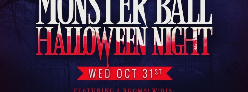 MONSTER BALL HALLOWEEN NIGHT OCT 31ST | MYTH DOWNTOWN SAN JOSE w/5+ DJS