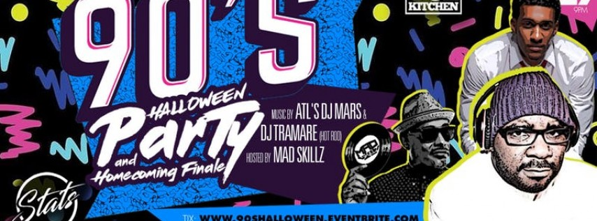 90's Halloween Party & Homecoming Finale