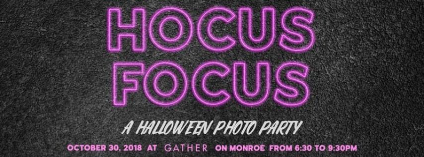 Hocus Focus - A Halloween Photo Party