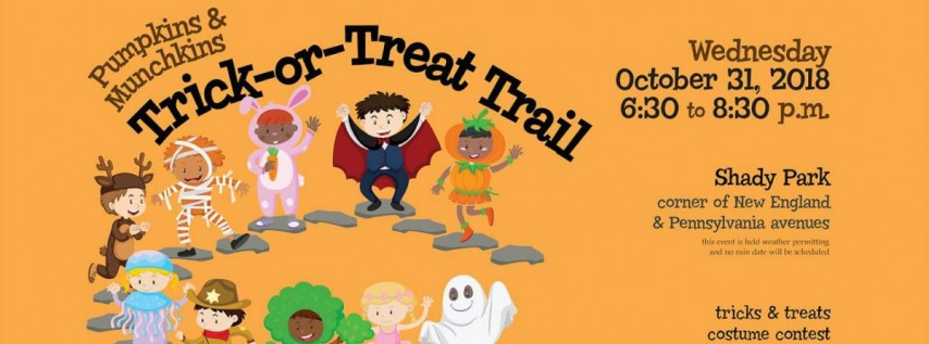 Pumpkins and Munchkins Trick or Treat Trail