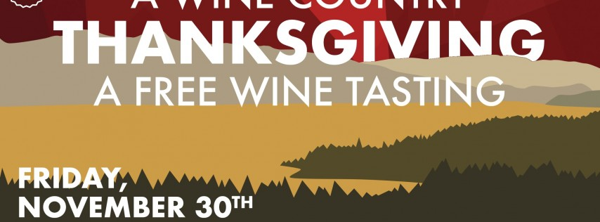 A Wine Country Thanksgiving | Cottage Grove