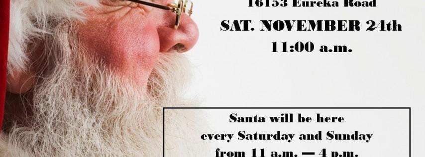 Visit Santa Claus at Ray Hunter Florist & Christmas Shop - Southgate