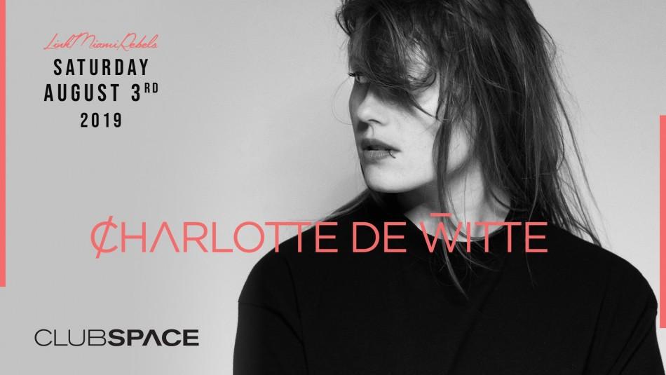 Charlotte de Witte by Link Miami Rebels