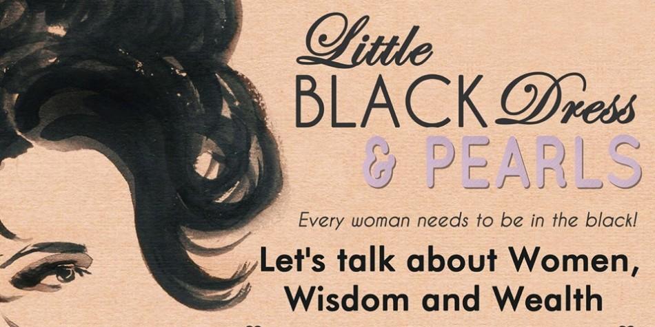 WBC - Little Black Dress & Pearls