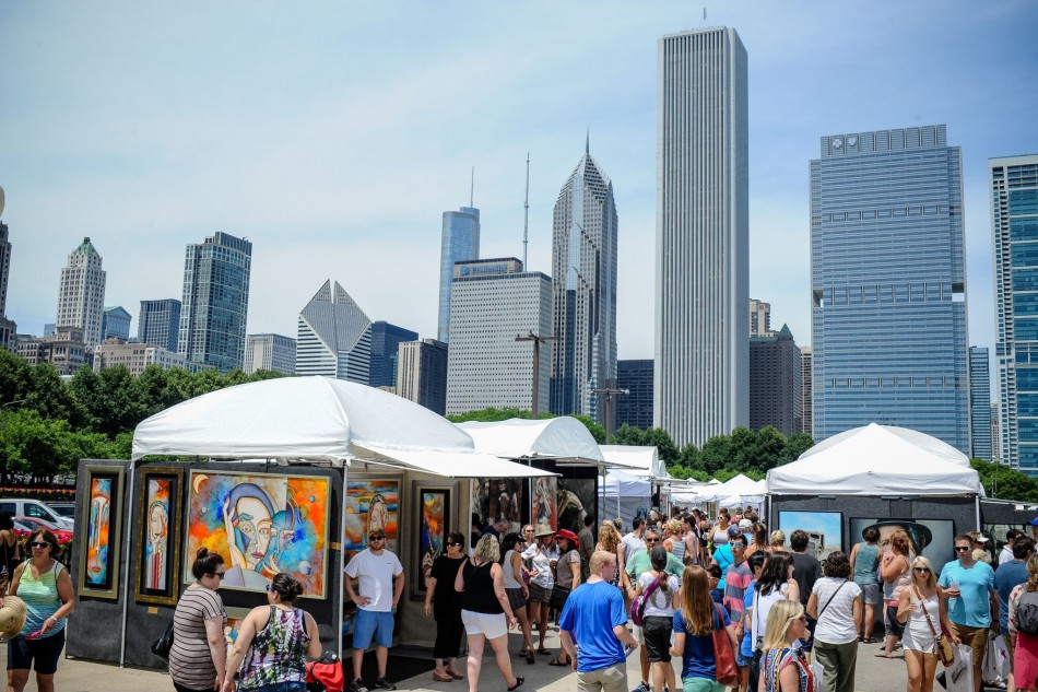 Gold Coast Art Fair in Grant Park: June 1 and 2, 2019