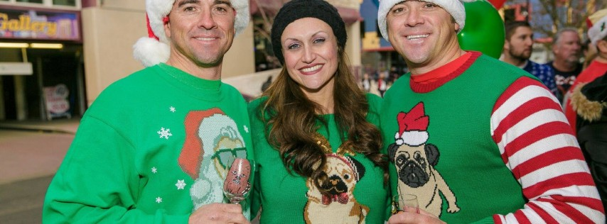 Ugly Sweater Wine Walk 2018