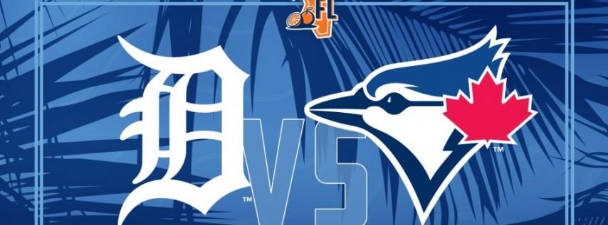 Spring Training: Toronto Blue Jays vs. Detroit Tigers