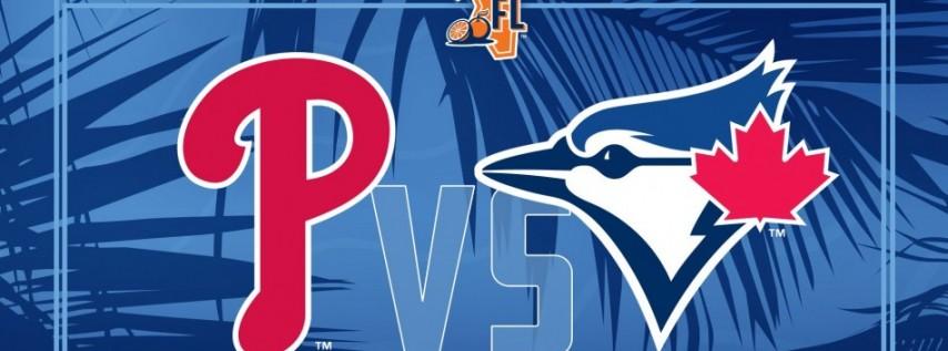 Spring Training: Toronto Blue Jays vs. Philadelphia Phillies