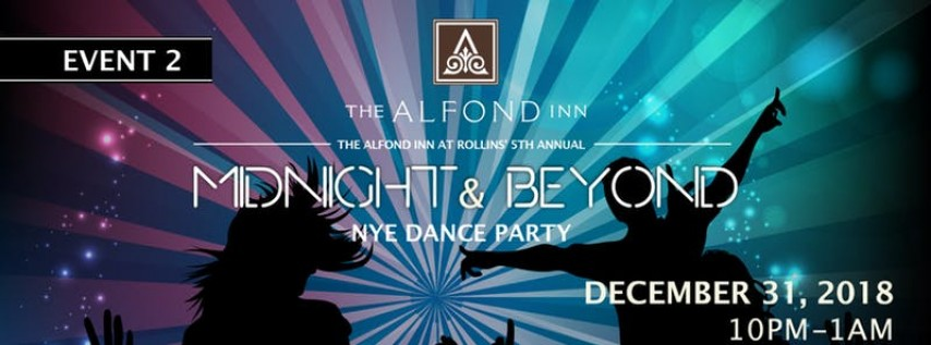 New Years Eve Dance Party at Alfond Inn - OPEN BAR!