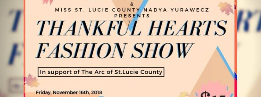 Thankful Hearts Fashion Show