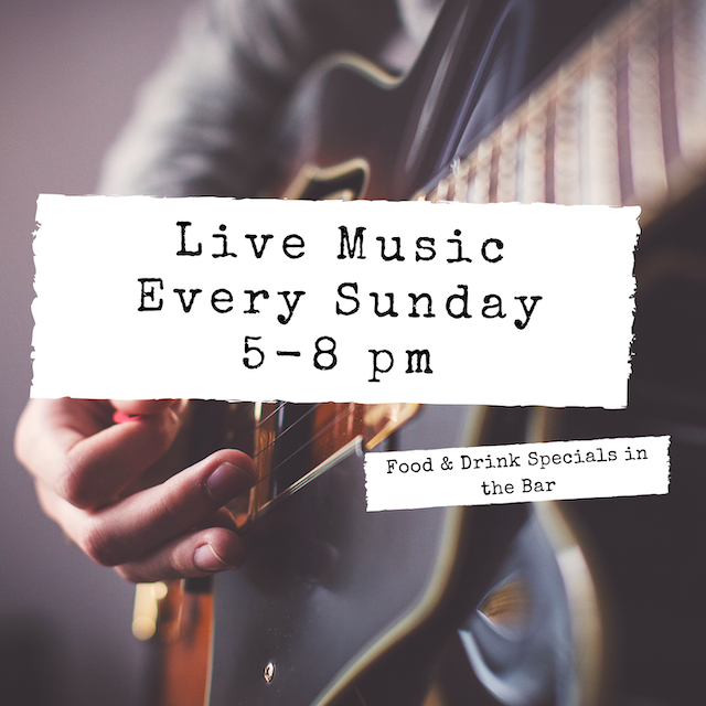Live Music Sundays at J. Gilbert's with Andrew Bailie
