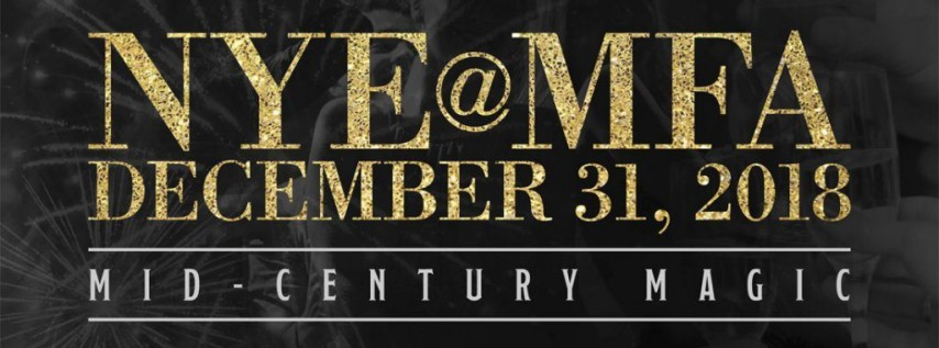 NYE@MFA: Mid-Century Magic – New Year's Eve Party