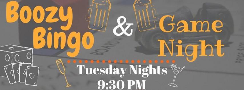 Boozy Bingo & Game Night