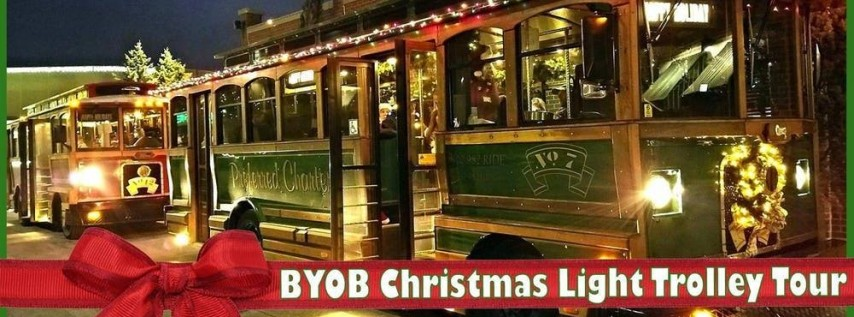 BYOB Holiday Trolley Crawl & Lights Tour - Sunday 6:30PM-10:00PM