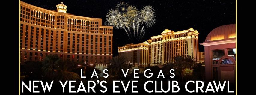 2019 Las Vegas New Years Eve Club Crawl at Chateau Nightclub